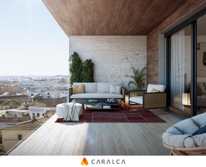Amplia terraza para un sitio expectacular